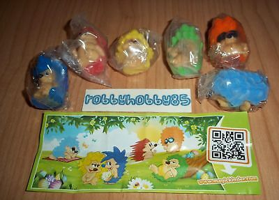 KINDER SURPRISE SET FIGURES TOYS COLLECTIBLES HEDGEHOGS WITH HOUSES 2001