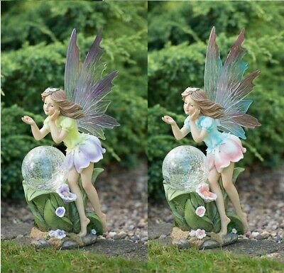 Garden Outdoor Magical Fairy Solar Powered Light Colour Changing LED Decoration