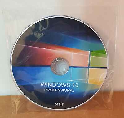 Windows 10 Professional (Pro) Product Key Retail + Dvd In Italiano 64 Bit