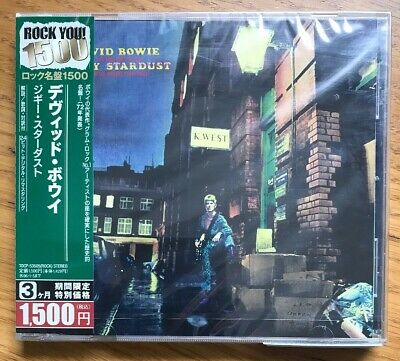 David Bowie ‎– The Rise And Fall Of Ziggy Stardust And The Spiders JAPAN CD