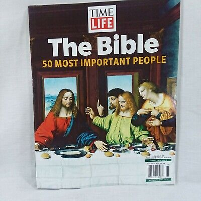 Time Life The Bible 50 Most Important People Special Edition 2019 Magazine