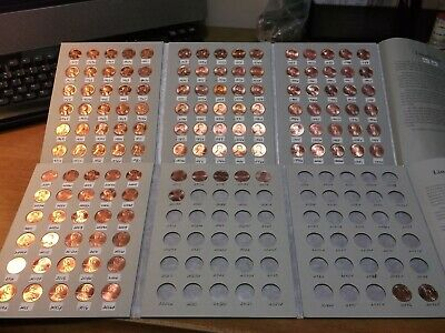 1959 p&d -to- 2019 p&d  LINCOLN MEMORIAL CENTS ( UNCIRCULATED SET ) WITH A BONUS