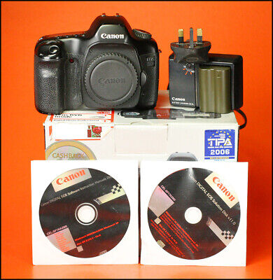 Canon EOS 5D 12.8MP DSLR Camera,  Sold With Battery, & Charger, Software & Box