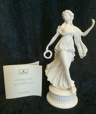 "Wedgwood - 2nd Figurine in ""The Dancing Hours"" Collection with Certificate (D10)"