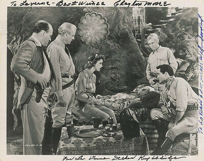 Perils Of Nyoka Movie Cast - Autographed Inscribed Photograph With Co-Signers