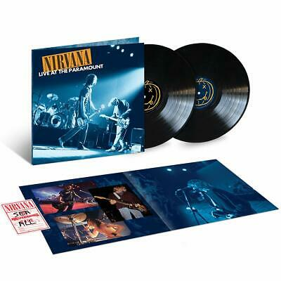 Nirvana – Live At The Paramount 2 x VINYL LP NEW (12th APRIL)