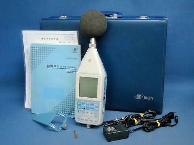 RION NA-27A SOUND LEVEL METER 1/3 OCTAVE BAND ANALYZER QA valid 2018/Sep $9000+