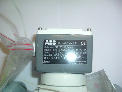 Abb .......... Flow Meter  Dm41F....... Dn 40 Ptfe 600 L/Min Plus Cable Both New
