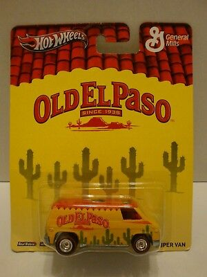 Hot Wheels Pop Culture Old El Paso Super Van RR's 1:64 C45-107