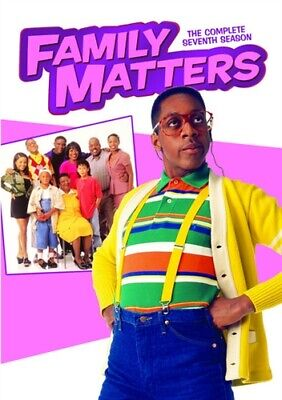 FAMILY MATTERS TV SERIES COMPLETE SEVENTH SEASON 7 New Sealed 3 DVD Set