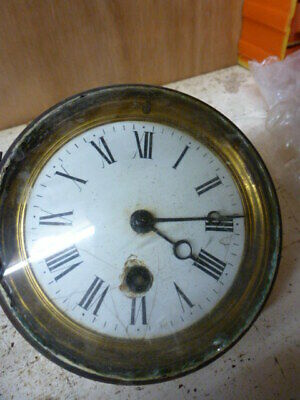 French timepiece clock movement for spare parts