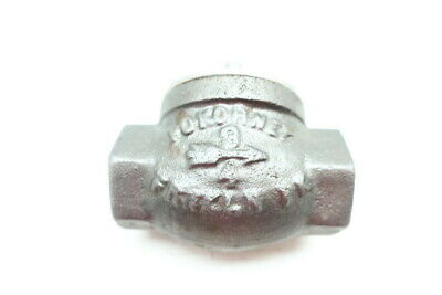 Pokorney Iron Swing Gate Check Valve 3/4in Npt
