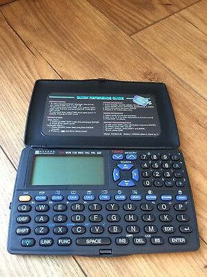 RERTO OREGON SCIENTIFIC 192kb  POCKET ORGANIZER 1998 ( BLACKLIT LCD ) FREE SHIP