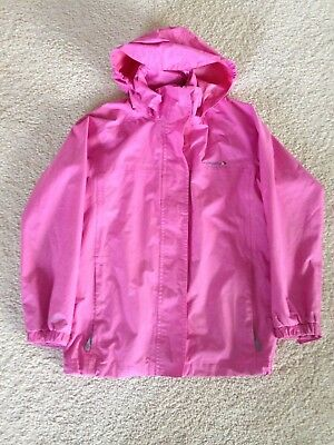 Girls Age 11-12 Years Pink Regatta Jacket With Hood and Pockets