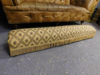 A Good Large Vintage Carriage Foot Stool Footrest