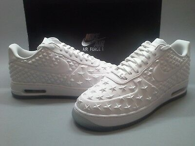 best website a829e 49117 DS Nike Air Force 1 Elite AS QS ALL STAR CONSTELLATION 744308-100 White AF1