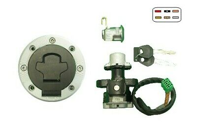 Hi-Level Ignition Switch Lock Set 6 Wires 737950 Suzuki GSX-R 750 2001-2003