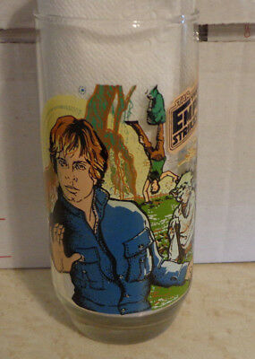 1980 Luke Skywalker Star Wars Empire Strikes Back Glass  **Never Used!!**