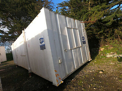 32ft x 10ft SITE OFFICE OPEN PLAN PORTABLE BUILDING SITE CABIN FAIR £1250+VAT
