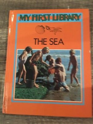 My First Library: The Sea. Children's Book Learning Kids Learn Educational