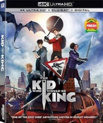 The Kid Who Would Be King (4K ULTRA HD + BLU RAY, 2018) NO DIGITAL CODE