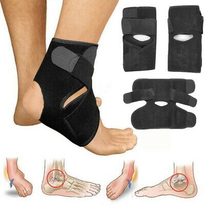 2Pc Ankle Support Protection Brace Compression Sleeve Fit Foot Protect Socks New