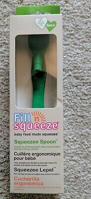Fill n Squeeze Pouch Spoon 6 Months Plus