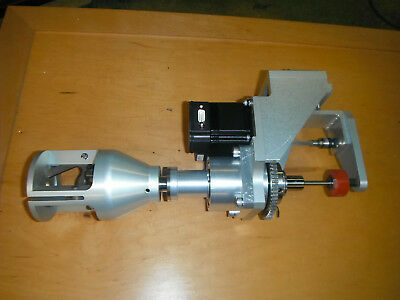 Spindle 3 Jaw Rotation Clamping Mechanism w/ Smart Stepper and Actuator (4688)