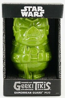 New Disney Star Wars Celebration Geeki Tikis Gamorrean Guard Ceramic Mug