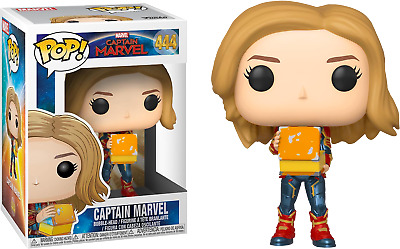Funko Pop! Captain Marvel (2019) - Captain Marvel with Tesseract #444 Exclusive