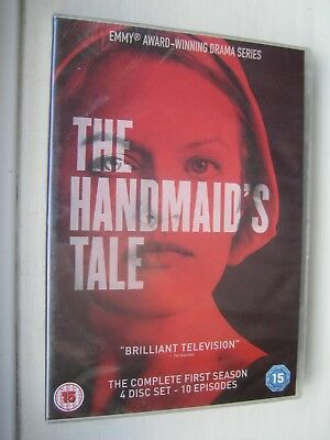 The Handmaid's Tale DVD The Complete 1st Series 4 Disc - 10 Episodes New Sealed