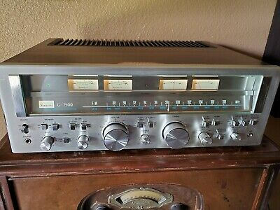 Beautiful Vintage Sansui G-7500 Pure Power Dc Stereo Receiver