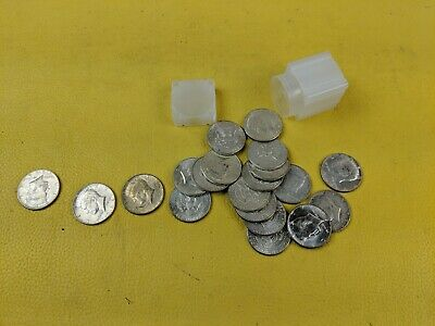 1964 Kennedy Half Dollar 90% Silver 20 Coin Roll