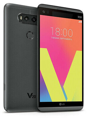 Great Verizon LG V20 VS995 Grey 64GB Android Smartphone