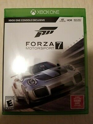 Forza Motorsport 7 (Microsoft Xbox One) Game Disc and Case
