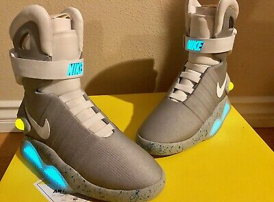 b5da934a41c6 Nike Air Mag Back To The Future 2011 Marty McFly DS Size 8 New With Box