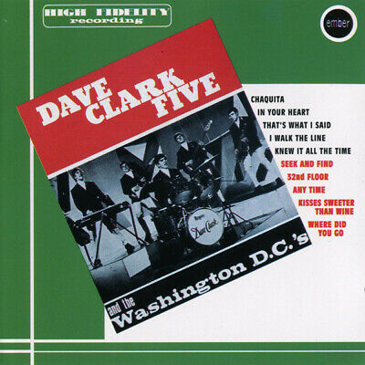 CD The Dave Clark Five / The Washington DCs Dave Clark Five / The Washington D