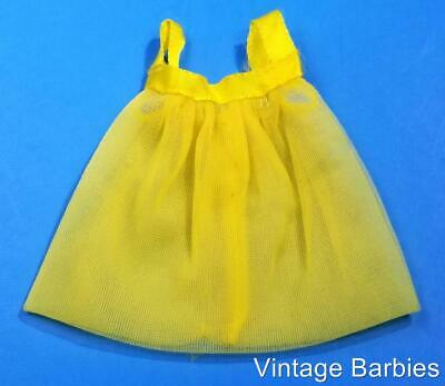 Barbie Doll Fashion Bouquet #1511 Yellow Nightgown VHTF ~ Vintage 1960's