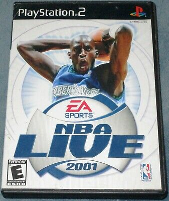 EA Sports NBA Live 2001 (Sony PlayStation 2, 2001)