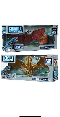 "Jakks Pacific Godzilla King Of The Monsters 6"" Rodan & King Ghidorah Figure 2019"
