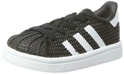 official photos 4acbf 52489 25 EU) adidas Superstar Sneaker Unisex-Bimbi, Nero (Core
