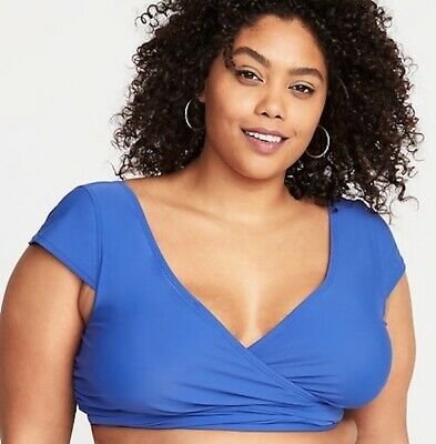 7e7421a8515 OLD NAVY PLUS-SIZE Wrap-Front Tankini Top in Garnett ~ NWT ~ Plus ...
