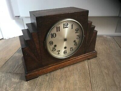 Antique haller a/G Westminster chime mantle clock