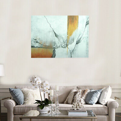 Modern Abstract Art Canvas Hand Painted Oil Painting Wall Art Framed - Crack