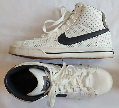 d43a45247562e Nike Men s Sweet Classic High Summit White Dark Obsidian Casual Shoes size  11M