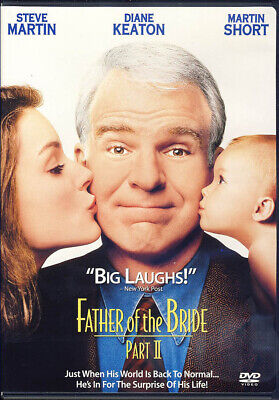 Father Of The Bride Part II New DVD