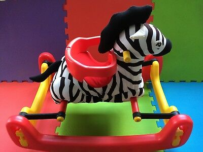 Vintage Todays Kids Rocking Bouncy Zebra, Complete, EXCELLENT CONDITION!