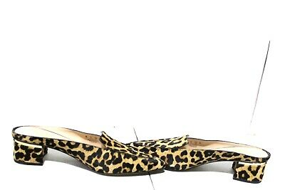 af5e716ad41f Franco Sarto D Orsay Wedge Leopard Calf Hair Ankle Strap Pumps Tinley Size  9M.