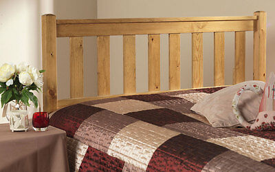 Solid Antique Pine Shaker Headboard To Fit A Divan Bed Can Match  Any Furniture