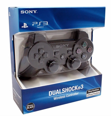 Sony PS3 Wireless Dualshock 3 Controller Gamepad charcoal Black-Promotion